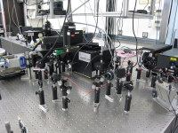 photoluminescence measurement setup